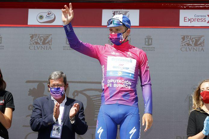 Remco Evenepoel n'a pas laissé échapper la victoire finale au Tour de Burgos.