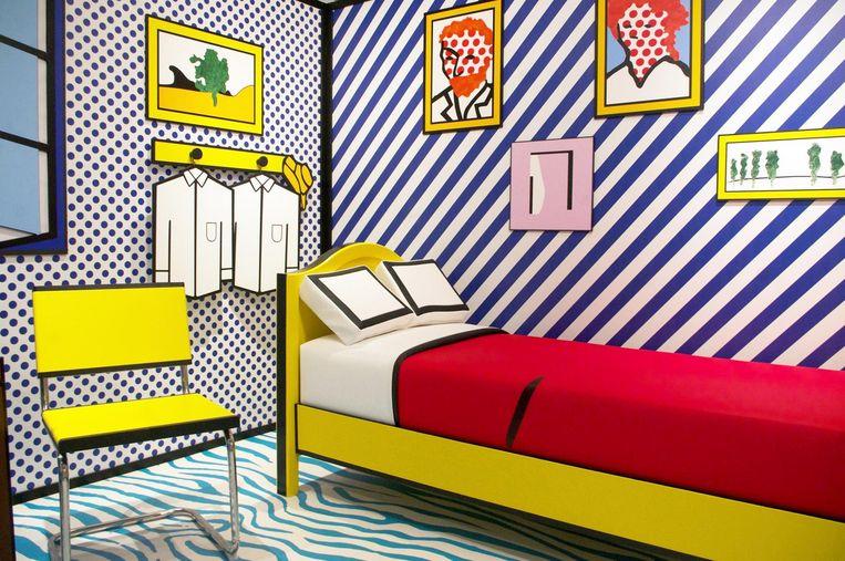 De 3D room van Roy Lichtenstein Beeld Roy Lichtenstein / Crying Girl, 1963. © Estate of Roy Lichtenstein, c/o Pictoright Amsterdam 2017