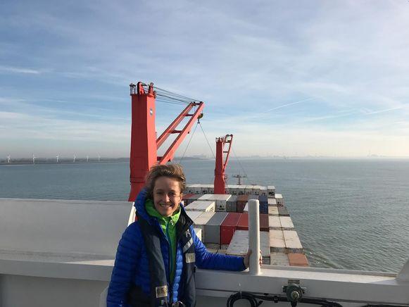Havenschepen De Ridder voer van Vlissingen naar Antwerpen
