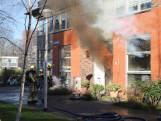 Hevige brand in kapsalon Delft