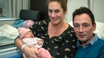 Juliette is eerste Wase baby van 2018