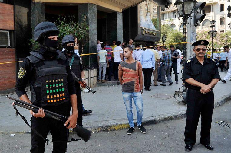 Egypte kreeg het afgelopen decennium geregeld te maken met aanslagen, zoals in 2015 in Caïro. Beeld EPA