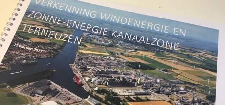 In de Kanaalzone kunnen zes, misschien acht nieuwe grote windturbines komen