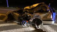 Jongeman kritiek na zware botsing met lichte vrachtwagen op invoegstrook E40