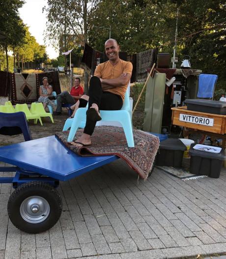Na de klachten, nu het geluk: hoekje Perzische ijsverkoper Vittorio wordt pleintje met bankjes