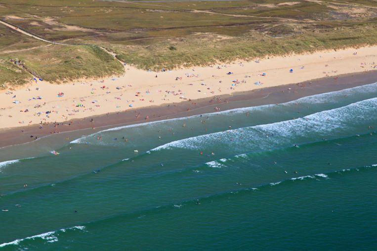 Het strand van Kerhillio in Erdeven (Bretagne)