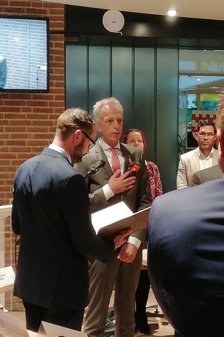 Sjors Fröhlich nu officieel burgemeester van Vijfheerenlanden: 'de juiste man op de juiste plek'