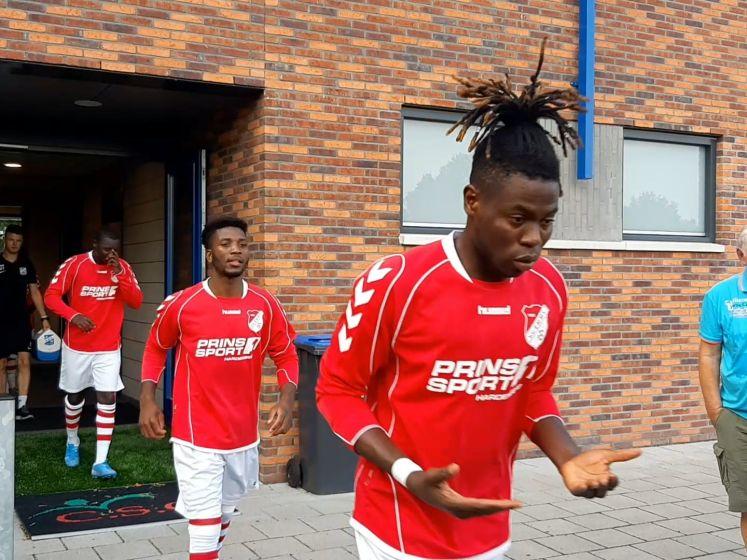 Matchday voor azc-voetbalteam uit Hardenberg