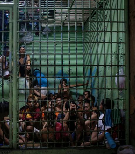 Dertien drugsverdachten zagen zich een weg uit de cel op de Filipijnen