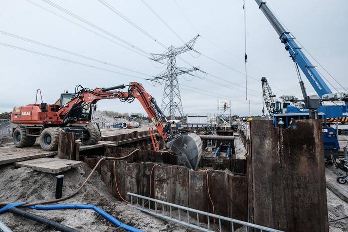 Werkzaamheden tussen Duiven en Zevenaar ter voorbereiding op het doortrekken van de A15.