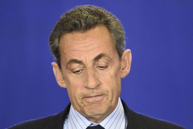Sarkozy. Beeld afp