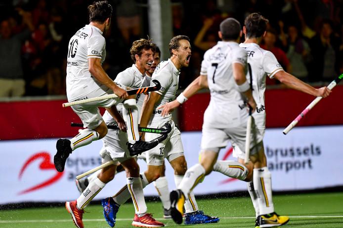 À l'issue d'un match palpitant contre l'Allemagne (4-2) au cours duquel ils ont été menés (0-2), les Red Lions se sont qualifiés pour la finale de l'Euro de hockey.