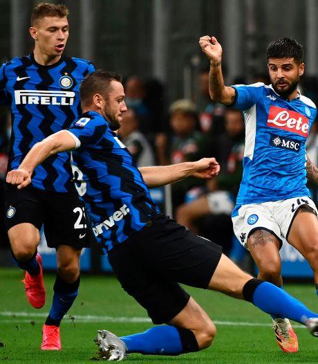 Internazionale weer tweede in Serie A na zege op Napoli
