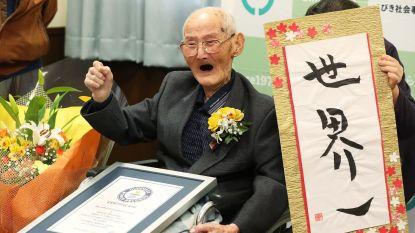 112-jarige Japanner is de oudste man ter wereld