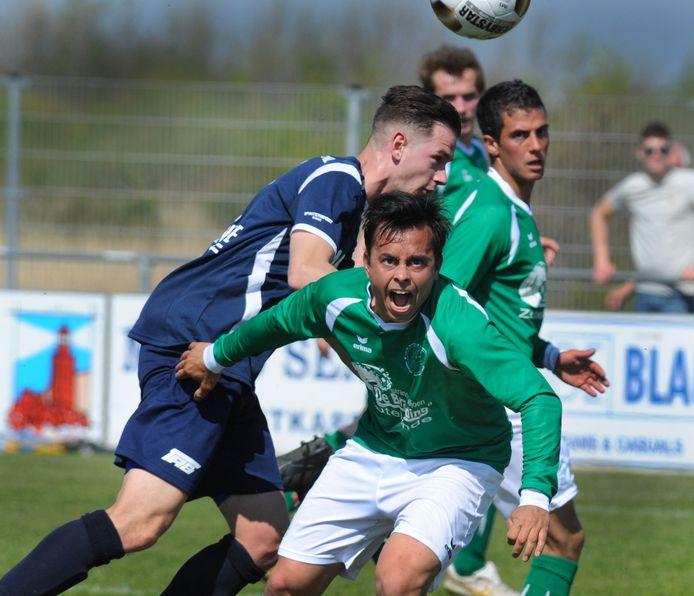 De Meeuwen (groene shirts) werd eerste in de B-categorie van de Borsele Sloepoort Cup.