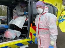 Reserve-heli is nu vliegende ic-ambulance: 'De gevaren kennen we, daar komt nu corona bij'