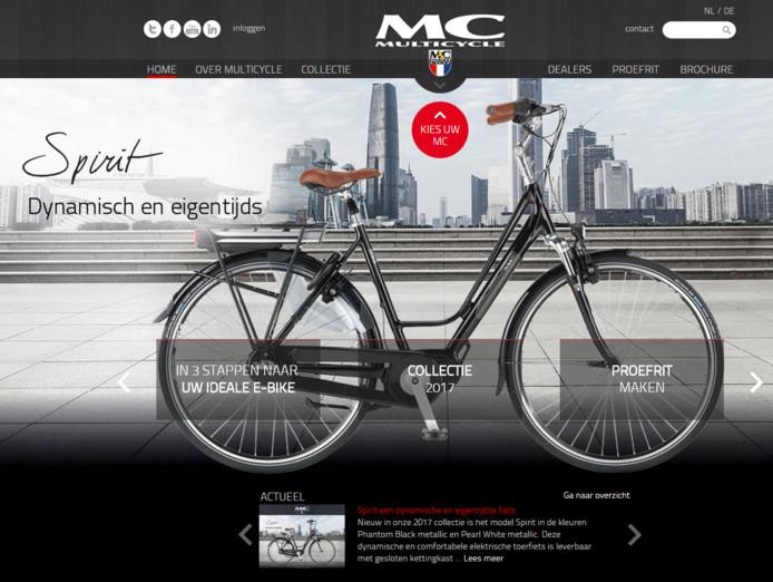 De website van Multicycle.