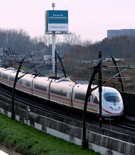 ICE is de enige trein die (om)rijdt van Arnhem naar Utrecht