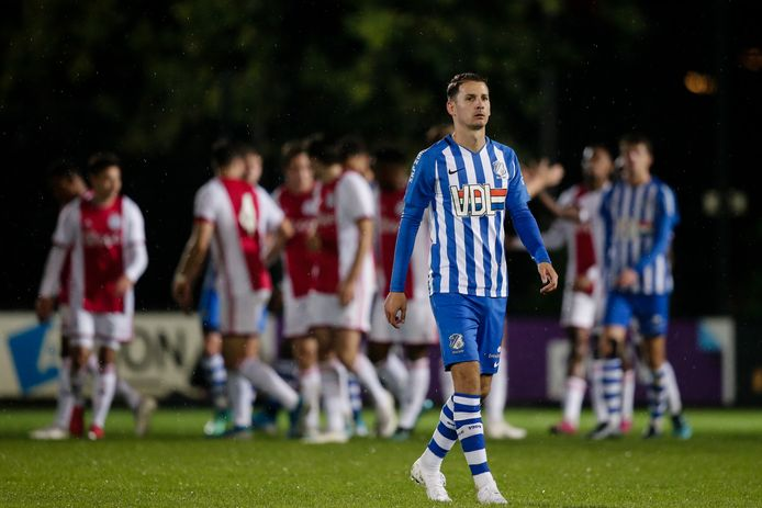 Joey Sleegers of FC Eindhoven during Ajax U23 - FC Eindhoven NETHERLANDS, BELGIUM, LUXEMBURG ONLY COPYRIGHT BSR/SOCCRATES