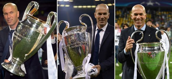 2016, 2017 en 2018: Real wist als enige club drie keer op rij de Champions League te winnen.
