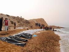 74 lichamen aangespoeld op strand van Libië