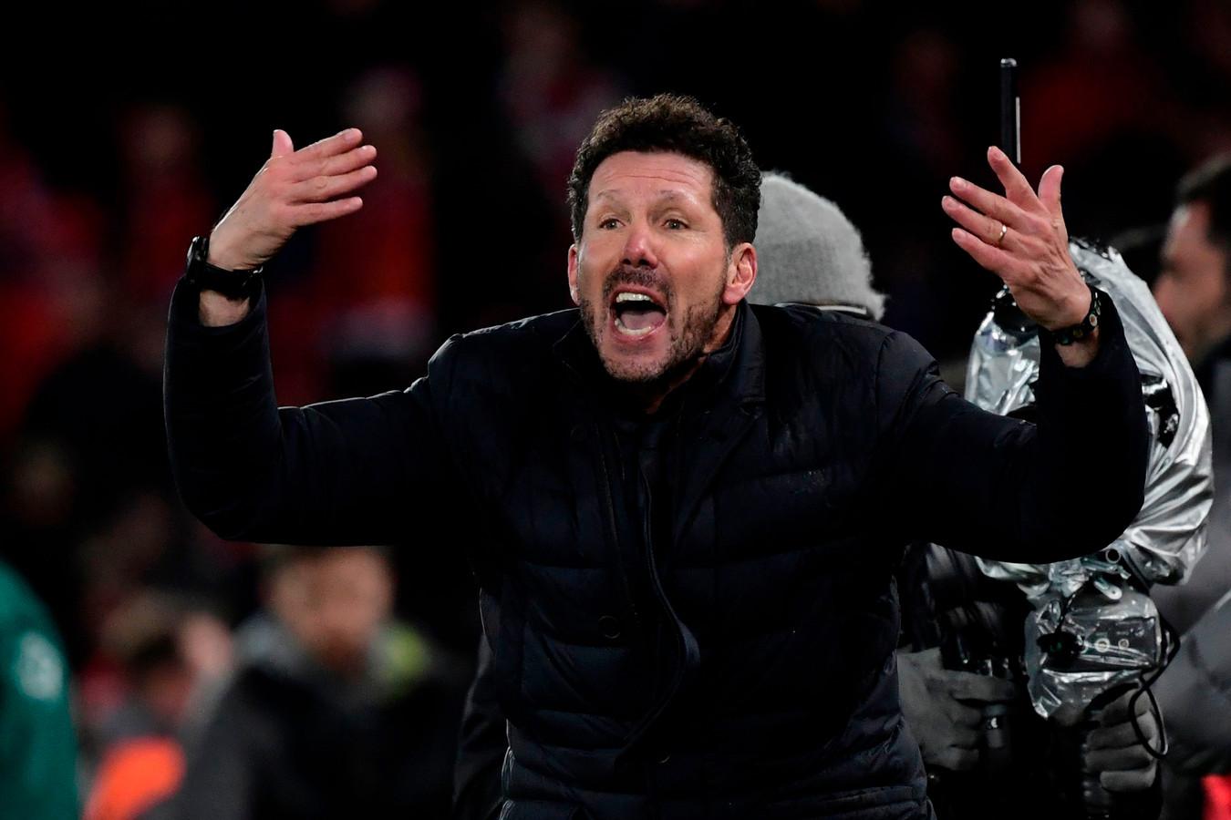 Diego Simeone devrait manquer le premier match de l'Atletico en Liga, la semaine prochaine.