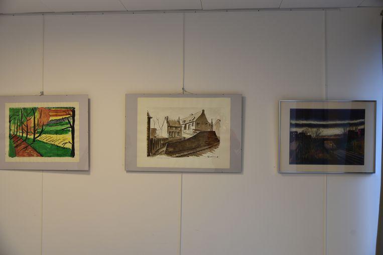 Emile Biesemans tentoonstelling gc den dam in Oudergem