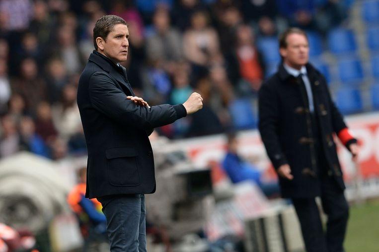 Juan Carlos Garrido als coach van Club Brugge
