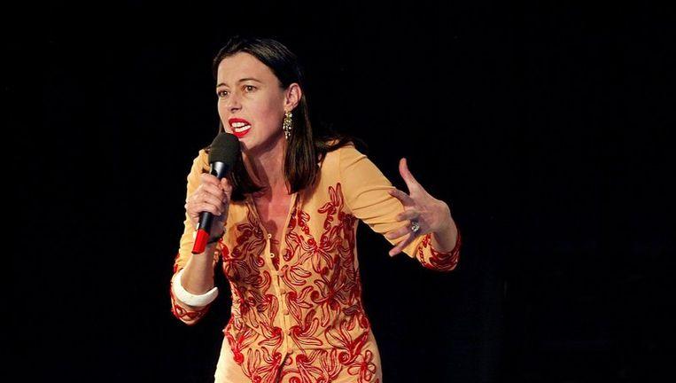 Adelheid Roosen zoekt volgens de jury in buurtcentra en moskeeën contact met een nieuw publiek voor de reguliere podiumkunsten. Foto ANP Beeld