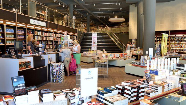Interieur van de boekhandel Polare. Beeld anp