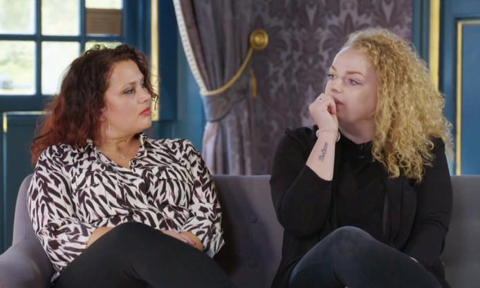 Geen geluk in de liefde voor Chantal en Ingeborg.