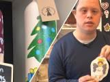 Verstandelijk beperkte Egen en Cecilia maken cadeaus met ware kerstgedachte
