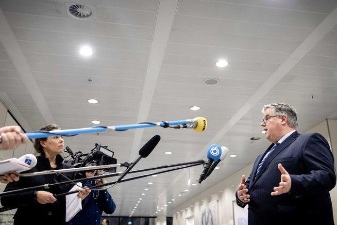 Burgemeester Hubert Bruls van Nijmegen.