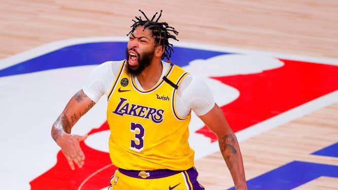 Anthony Davis blijft vijf jaar langer bij de Lakers, waar ook LeBron James al nieuw contract tekende