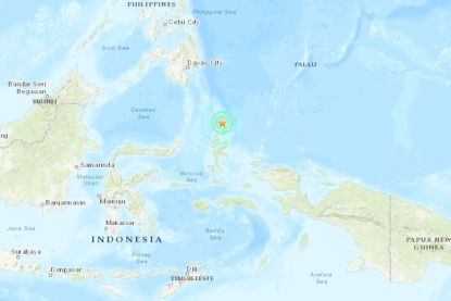 Sterke aardbeving in Indonesië