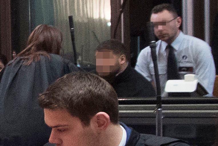 Hoofdbeschuldigde Mehdi Nemmouche is zelf ook aanwezig in de assisenzaal.