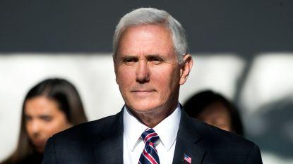 Amerikaanse vicepresident Pence bezoekt alsnog Midden-Oosten