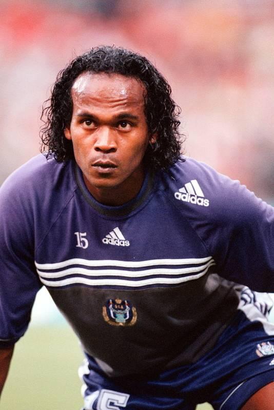 Gaston Taument in zijn tijd als profvoetballer in 2000.