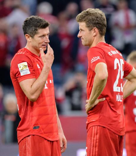 Bayern München stelt teleur met remise tegen Hertha BSC