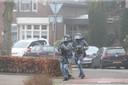 Arrestatieteam in Rosmalen probeert Joey D. aan te houden.