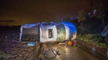 Aquaplaning veroorzaakt spectaculaire crashes op E429