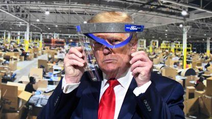 """Trump weigert opnieuw mondmasker bij bedrijfsbezoek: """"Ik wil de pers het plezier niet gunnen"""""""