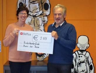 Rik Decoster steunt Kinderkankerfonds met 2.175 euro