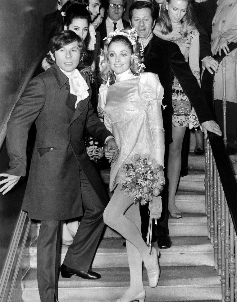 Polanski en Tate in 1968.