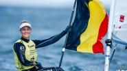 Emma Plasschaert begint op olympisch testevent als leider aan medaillerace in Laser Radial