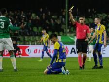 FC Dordrecht-speler Lewis voor één duel geschorst
