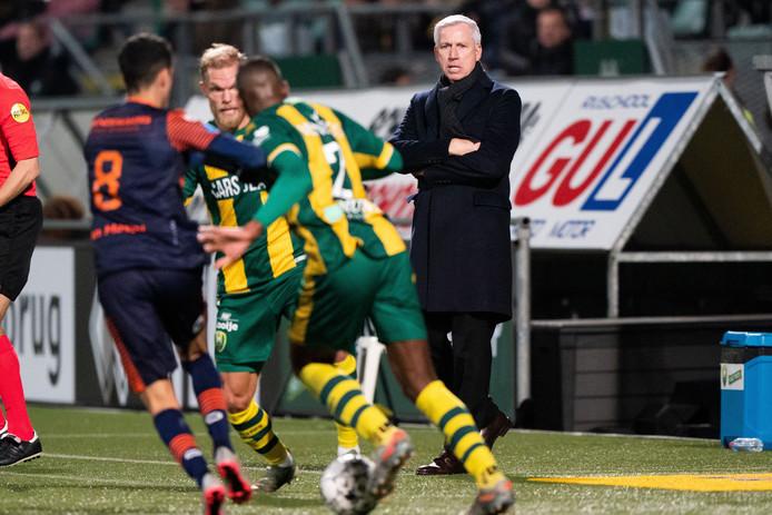 ADO Den Haag won na de winterstop pas één keer: in eerste wedstrijd na de hervatting tegen RKC.