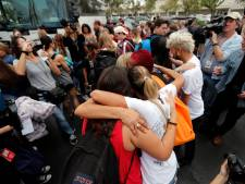 Amerikaanse leerlingen starten busreis van 600 kilometer voor strengere wapenwetten