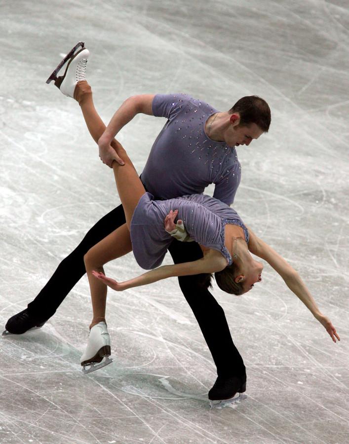 Bridget Namiotka en John Coughlin in 2006.