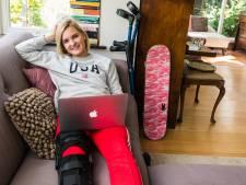 Skateboardbelofte Roos (18) uit Zeist droomt van de Olympische Spelen